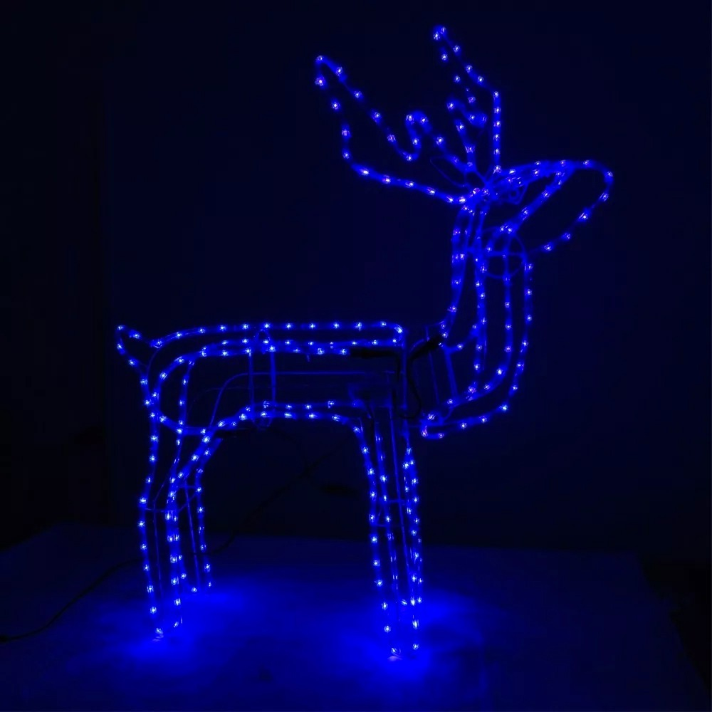 ff5b53b3cb1 Renos De Navidad Con Luces. Renos De Navidad Con Luces. Moderno ...