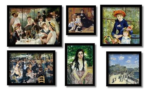 renoir  6 quadros os mais famosos do pintor