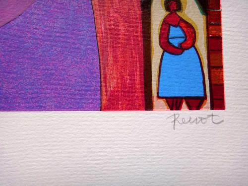renot - figuras - cenas da bahia - serigrafia maravilhosa!