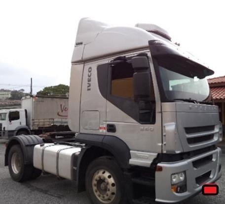 renovação frota caminhões iveco stralis 360 pequena entrada