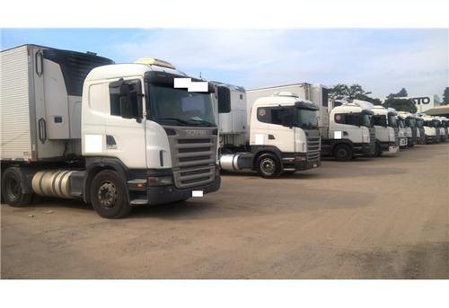 renovação frota scania 420 6x4 1º caminhão com 50% entrada