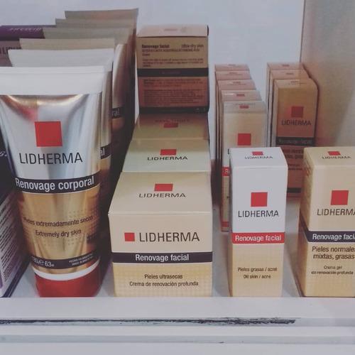renovage corporal crema hidratante lidherma