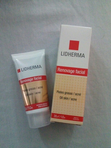 renovage facial pieles grasas/acne lidherma