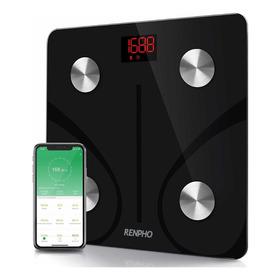 Renpho Pesa Bluetooth Analizador Corporal, Grasa Y Mas App