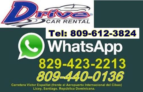 rent car, drive, jeepetas, autos, coches, santiago, r.d