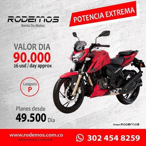 renta alquiler de motos en medellín desde 17.500 el día