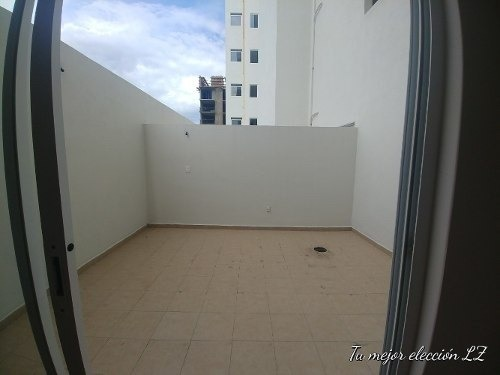 renta amplio y muy iluminado depa con amplia terraza