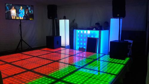 renta  audio dj pista de baile salas lounge periquera
