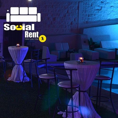 renta audio,salas lounge, vintage, calentadores,mesas,sillas