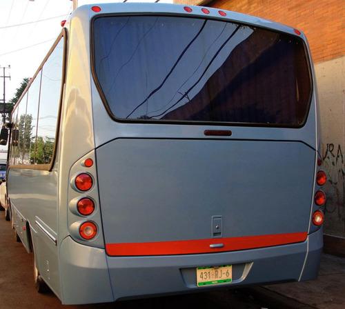 renta autobús mediano 33, 30 y 25 pasajeros midi y mini bus