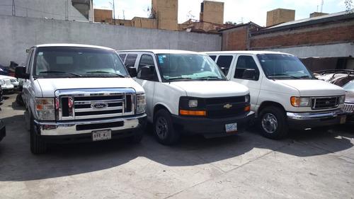 renta camioneta auto 5,12,15 pasajero sin tarjeta de credito
