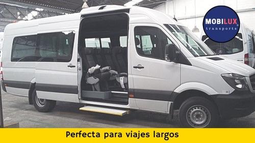 renta camionetas 20 personas