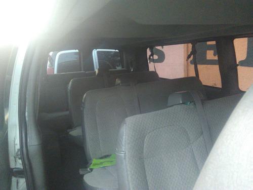 renta camionetas 7, 8,12 y 15 pasajeros c/chofer df cdmx