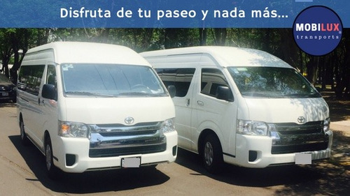 renta camionetas con chofer df cdmx turismo / ejecutiva