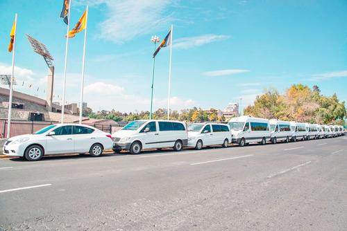 renta camionetas df pasajeros con chofer baratas renta vans
