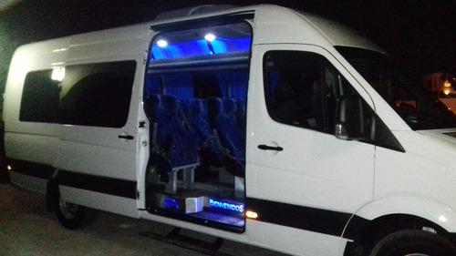 renta camionetas sprinter turística con operador viajes