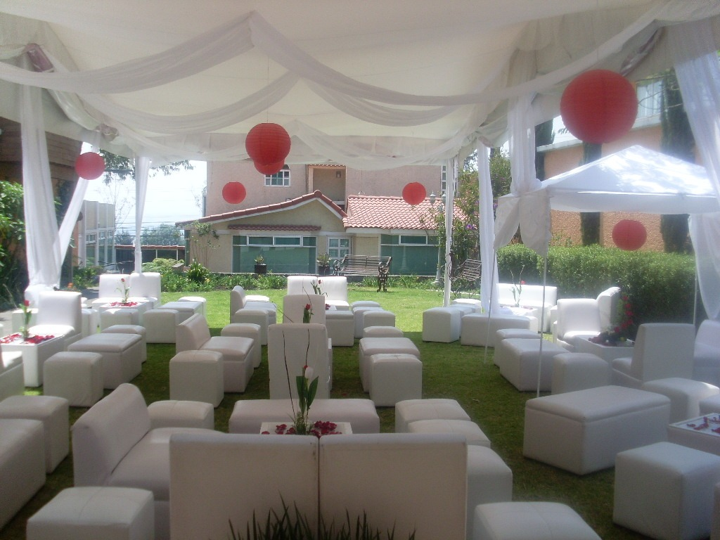 Renta Carpas Salas Lounge Periqueras Madera 650 00 En Mercado  # Muebles Lounge Para Eventos