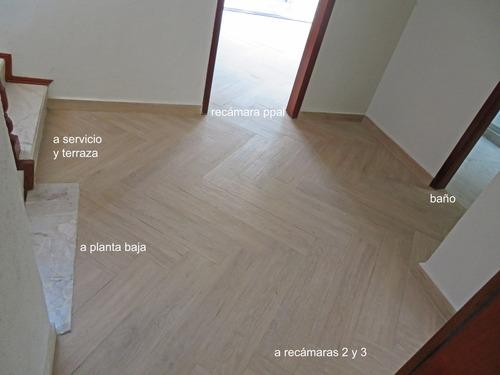 renta casa 3 recamaras estudio cdmx sur (df) col alpes