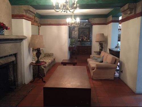 renta casa colonial en coyoacán