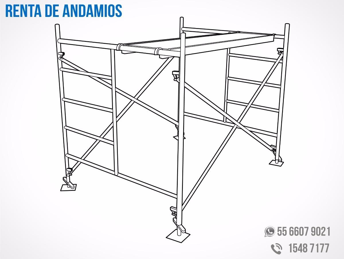 Renta de andamios 2 en mercado libre for Alquiler de andamios precios