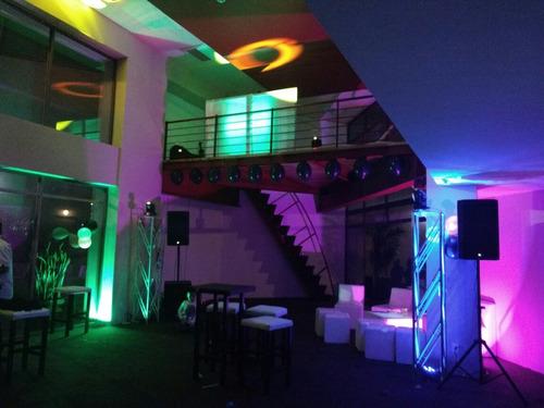 renta de audio e iluminación profesional, dj versatil,