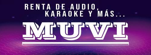renta de audio, karaoke y más