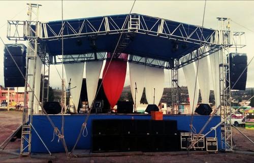 renta de audio y escenario