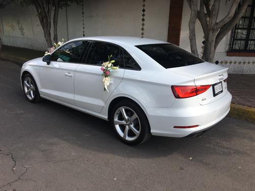 renta de auto de lujo audi bodas xv años eventos