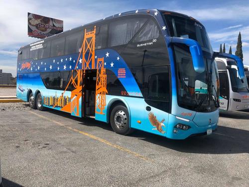 renta de autobus doble piso dd 68 ó 64 lugares !