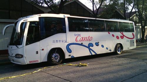 renta de autobuses con descuento volvos 45 pasj