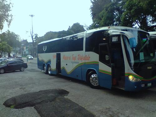 renta de autobuses turisticos en cdmx