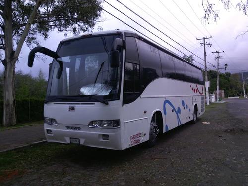 renta de autobuses  volvos de 45 pasajeros