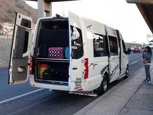 renta de autobuses y camionetas sprinte a toda la republica
