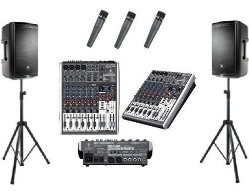 renta de bocinas y micrófonos para eventos df, cdmx y edo.