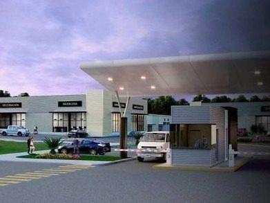 renta de bodega-oficina en cancún, plaza comercial business park & plaza