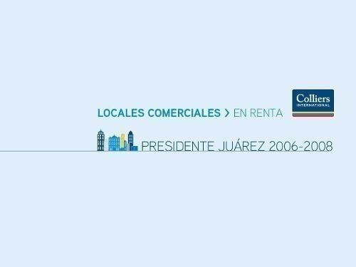 renta de bodega presidente juárez 2006 / 2007