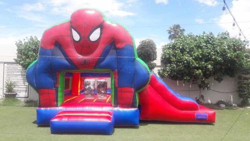renta de brincolin del hombre araña en ensenada