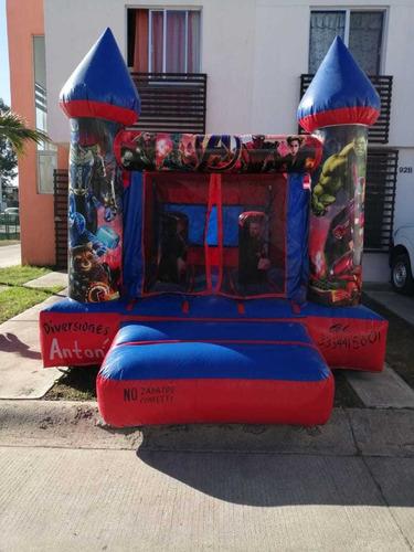 renta de brincolines y mobiliario para eventos