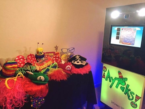 renta de cabina de fotos para fiestas