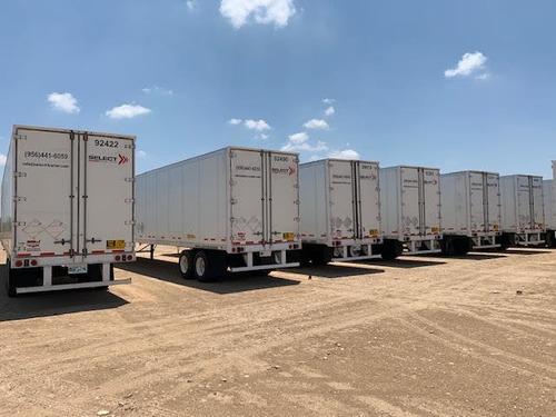 renta de cajas secas 53 pies  para carretera o almacen
