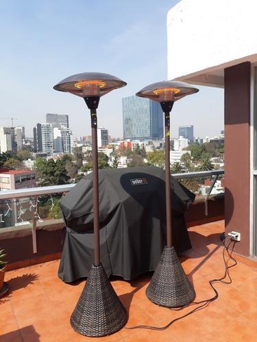 renta de calentadores para terraza o jardin