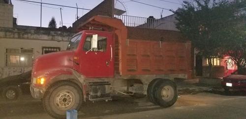 renta de camión de volteo 7m3 fierros grandes