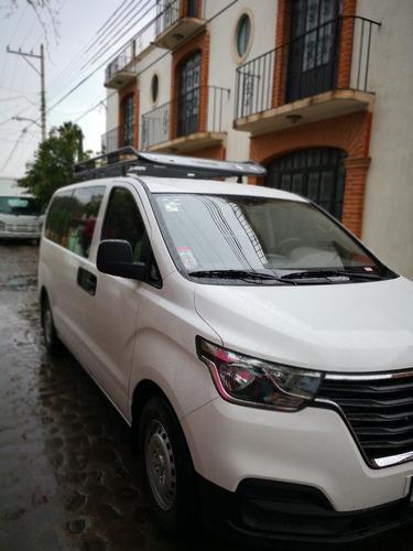renta de camioneta 12 pax hyundai 2019 con y sin chófer.