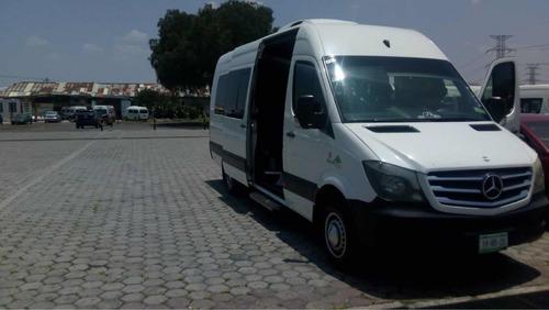 renta de camioneta 20 pasajeros excelente precio y servicio
