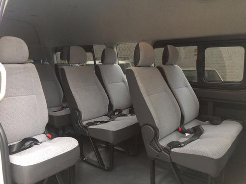 renta de camioneta con chofer de 14 pasaj turismo/ejecut gdl