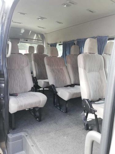 renta de camionetas 14 y 20 pasajeros