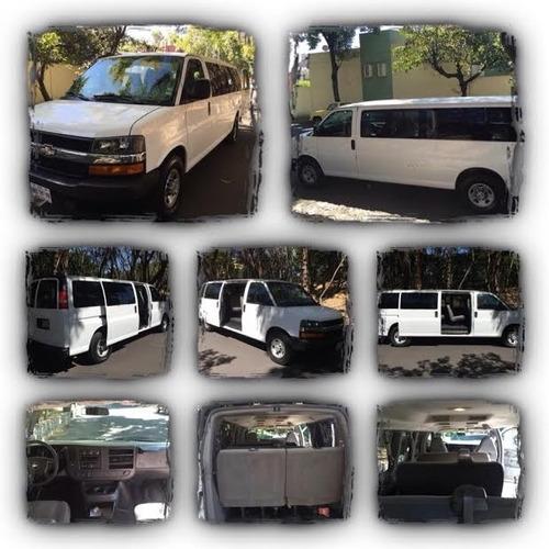 renta de camionetas de 7, 12 y 15 pasajeros