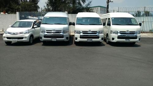 renta de camionetas df