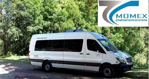 renta de camionetas en cdmxcon chófer.13 hasta 20 pasajeros.