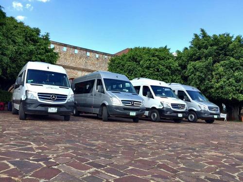 renta de camionetas sprinter, van y autobuses